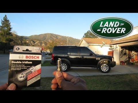 A Easy Land Rover Auto Repair – Replace Spark Plugs To Improve Performance