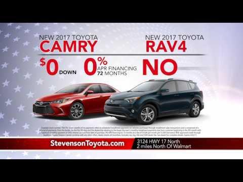 Stevenson Toyota | Jacksonville, NC | ToyotaTime Memorial Day Offers