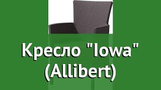 Кресло Iowa (Allibert) обзор 17197853 бренд Allibert_Keter Group производитель Keter Group (Израиль)