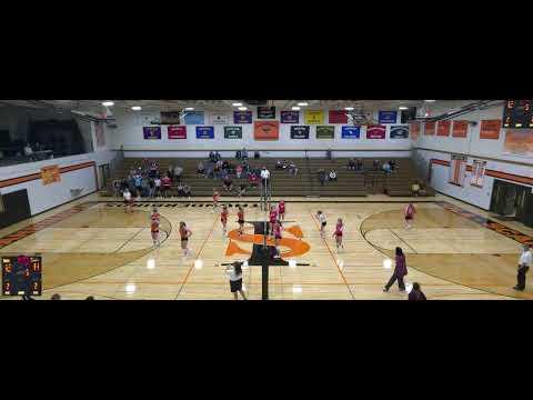 Iola-Scandinavia vs. Pacelli High School Varsity Womens' Volleyball