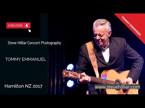 Tommy Emmanuel in Hamilton New Zealand