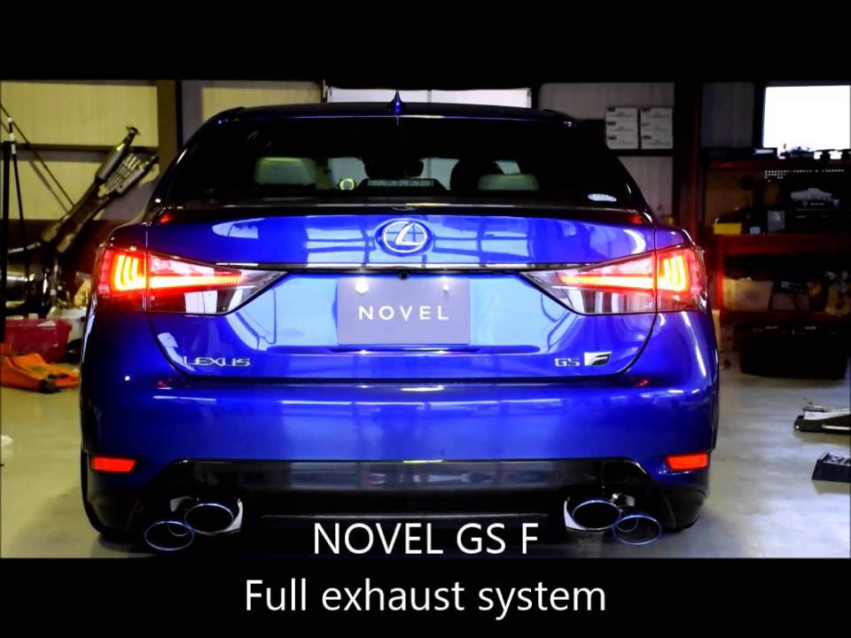 novel gs f full exhaust sound