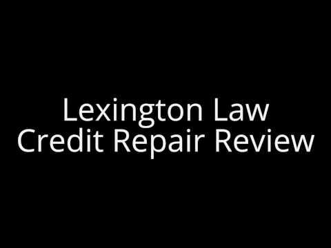 Lexington Law Credit Repair Review 2017