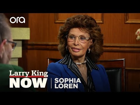 "Sophia Loren on ""Larry King Now"" - Full Episode in the U.S. on Ora.TV"