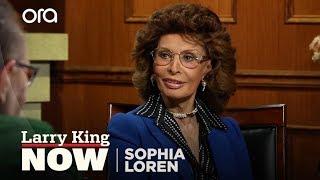 Sophia Loren Discusses Memoir, Clark Gable and More with Larry King Now