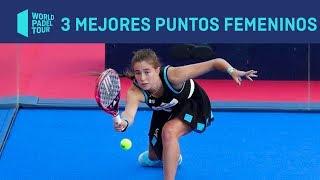 Los tres Mejores Puntos Femeninos del Valladolid Master 2019