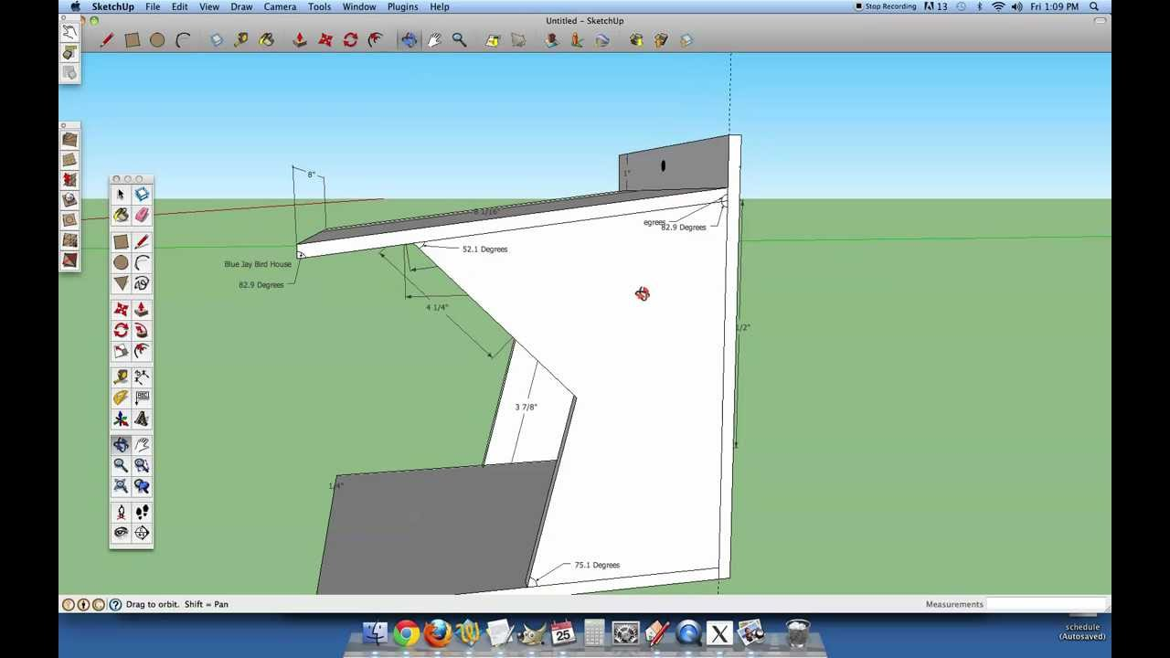 Blue jay bird house plans in 3d youtube - Total 3d home design free download ...