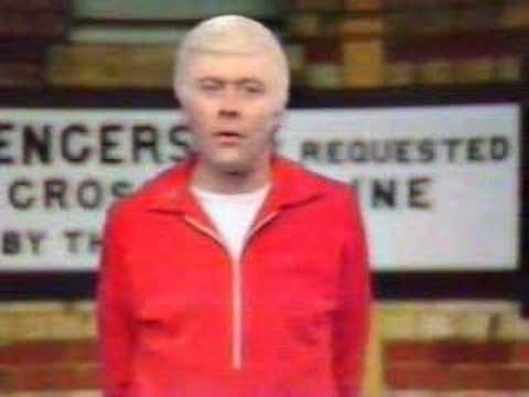 Mike Yarwood as Jimmy Saville, BBC, 1981