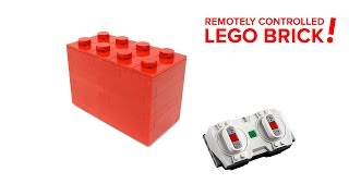 LEGO Ideas: Remotely Controlled LEGO Brick project!