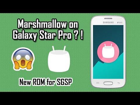 Android Marshmallow on Samsung Galaxy Star Pro!