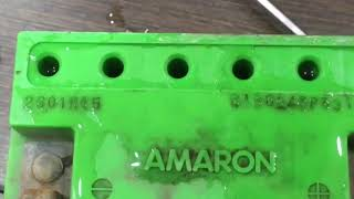 restore dry cell AMARON battery 🔋