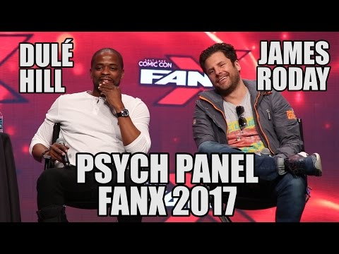 Psych Panel at FanX 2017