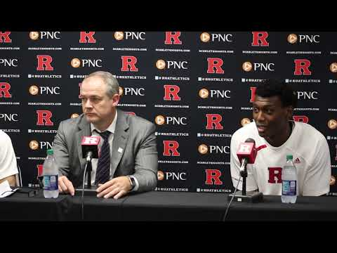 Rutgers Scarlet Knights Basketball - Pikiell, Baker, And Doorson Talk Win Over Eastern Michigan