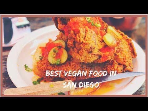 Best Vegan food in San Diego: Donna Jeans.