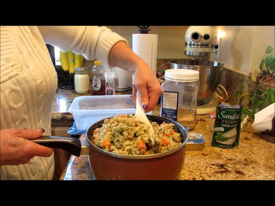 How to make homemade dog food recipe cat food recipe with lindas how to make homemade dog food recipe cat food recipe with lindas pantry forumfinder Gallery