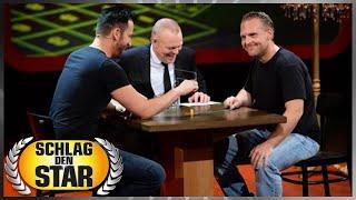 Spiel 3: Spitz, pass auf! - Axel Stein vs. Michael Wendler - Schlag den Star