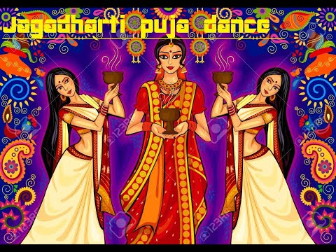 Jagadharti puja dance show  in canning.