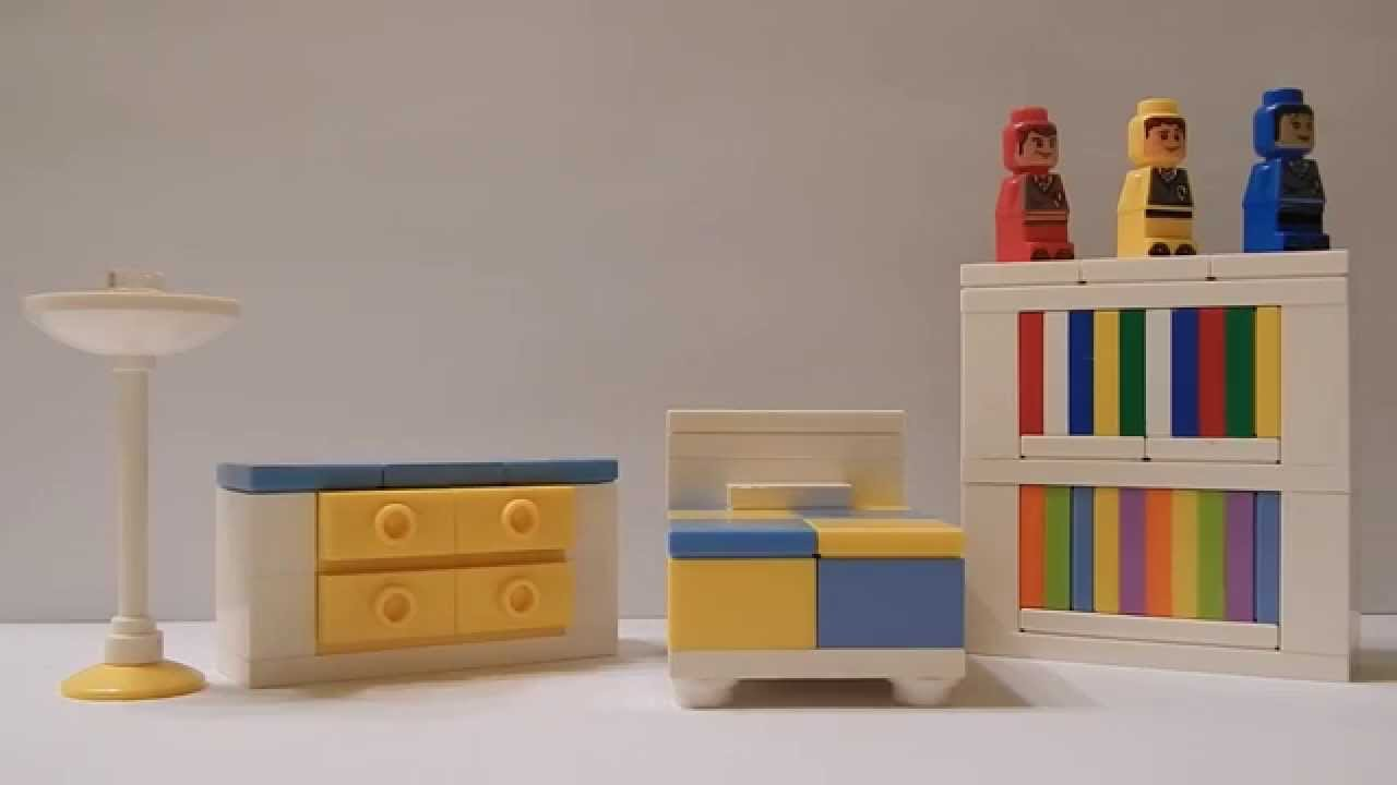 How To Make A Lego Toddler Bedroom Set Youtube