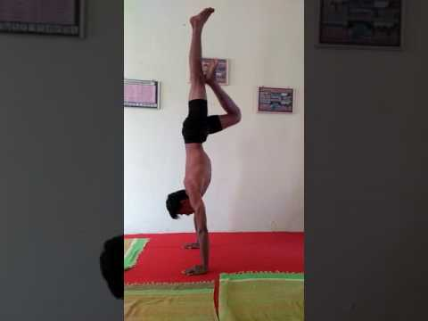Howe to Titibhasan Whit Headstand Yoga  Gujarati Hindi