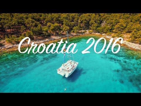 Croatia: a week on a yacht in the mediterranean - 4K - DJI Phantom 3 Professional (2016)
