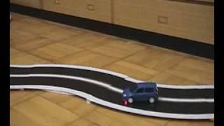 エアロアールシーを改造した、おふざけマイコンカー。