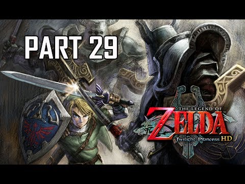 The Legend of Zelda Twilight Princess HD Walkthrough Part 29 - Temple of Time (Hero Mode)