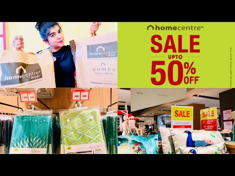 Home Centre Sale Shopping Haul | 50-70% Discount | HOME DECOR Shopping Haul