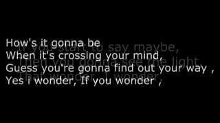 Wonder - Ahmed sultan (lyrics)