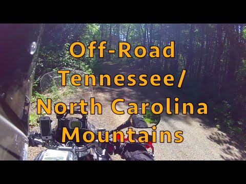 Motorcycle Adventure Off-Road to Murphy NC ADV
