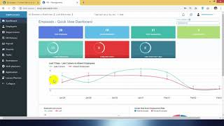 Empleado - quick dashboards hr & attendance automation