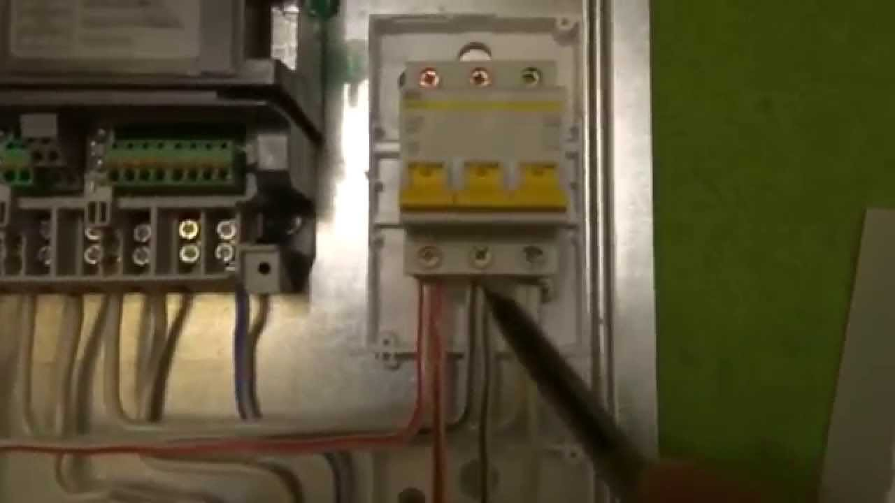 Как собрать электрощит с УЗО и ОПС.