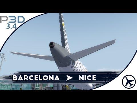 ¿Se puede volar sin APU? | BCN - NCE | A320 [FSLabs] | Prepar3D v3
