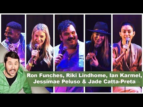 Ron Funches, Riki Lindhome, Ian Karmel, Jessimae Peluso & Jade CattaPreta   Getting Doug with High
