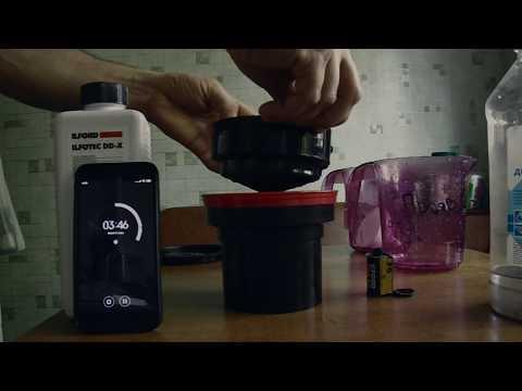 Проявка плёнки в домашних условиях по процессу Д-76