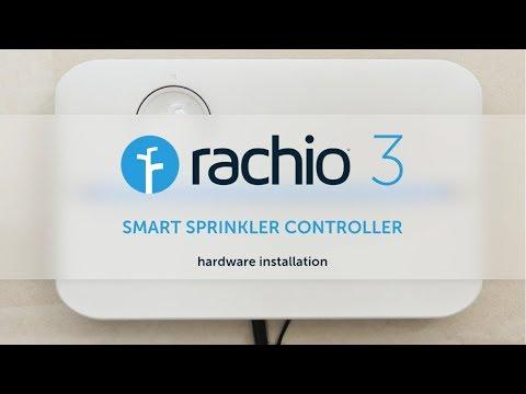 Hardware Installation — Rachio 3 Smart Sprinkler Controller on