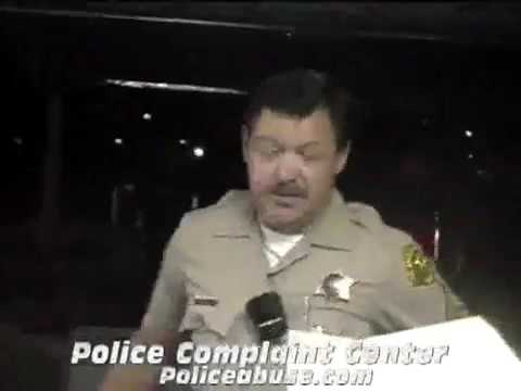 I will make up a charge and arrest you   Los Angeles County Sheriffs   YouTube 360p