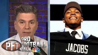 Jon Gruden has high hopes for Josh Jacobs' rookie season | Pro Football Talk | NBC Sports