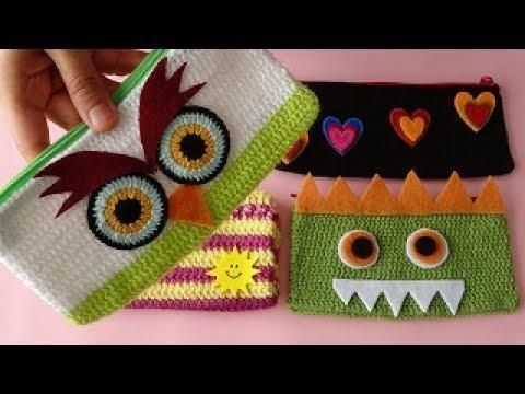 ÖRGÜ KALEMLİK FİKİRLERİ, Kendin Yap - DIY Knitting Pencilcase