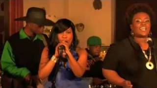 Ree'Al feat. 5th Element in her video (Encore)