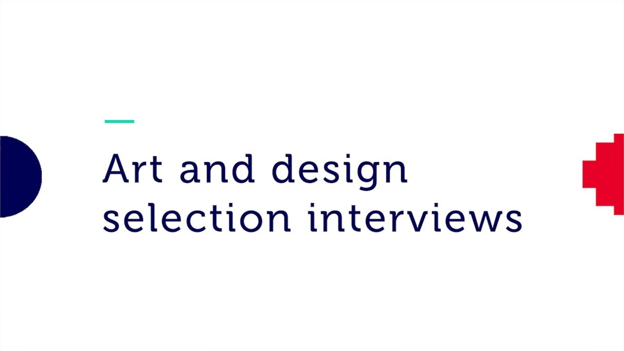 Art And Design Selection Interviews Rmit University Youtube