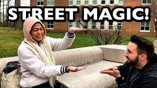 STREET MAGIC FREAKS THEM OUT!