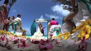wedding in Hawaii with Rachel + Brandon