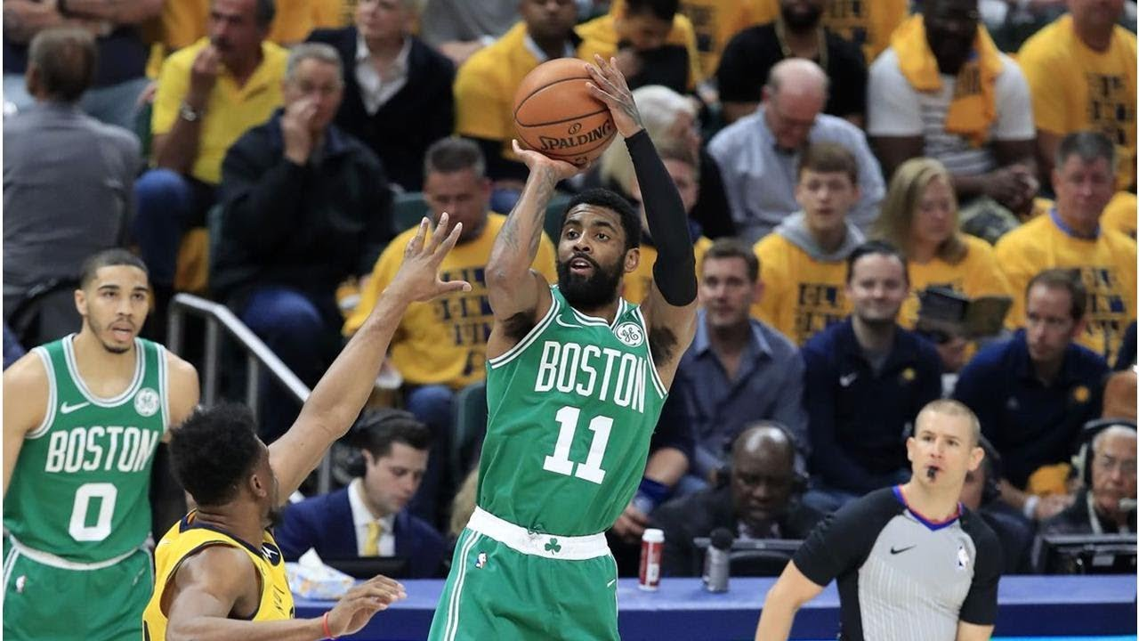Boston Celtics 104 - Indiana Pacers 96: Jaylen Brown's near perfection, late Kyrie Irving heroics push Celtics to 3-0 ...