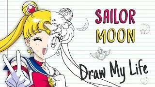 SAILOR MOON 🌙 💖💫 | Draw My Life