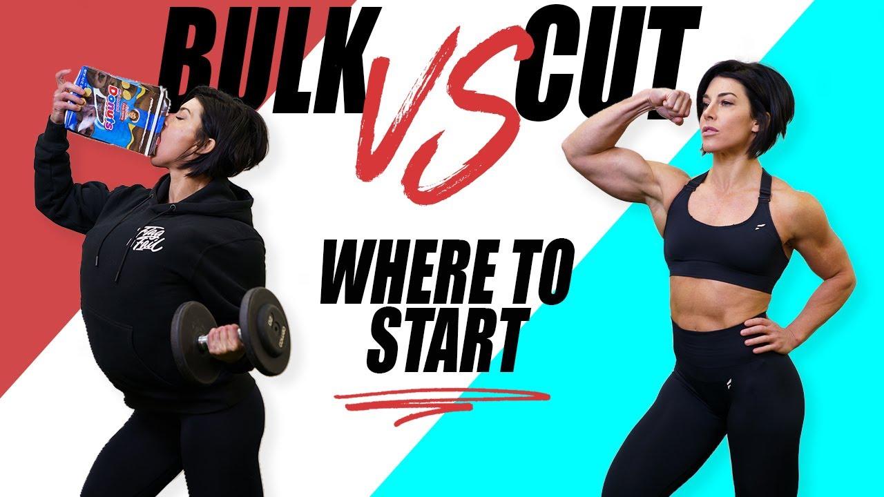 BULK VS CUT ?   Where You Should Start