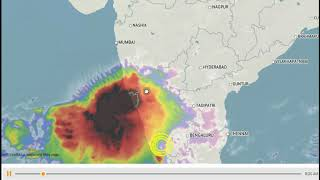 Indian Weather Satellite Cloud movement || Indian Weather Report