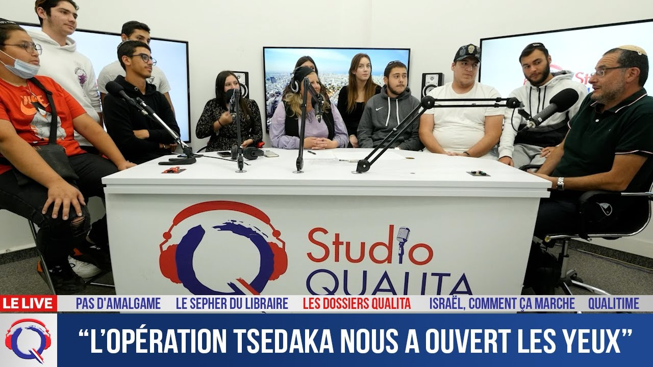 """L'opération Tsedaka nous a ouvert les yeux"" - Dossier#226"