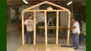 How To Build A Storage Shed:  Frame Part 1