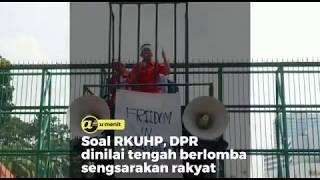 Soal RKUHP, DPR dinilai tengah berlomba sengsarakan rakyat