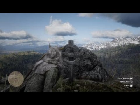 Red Dead Redemption 2 Arthur Morgans Grave Location Ps4 Youtube